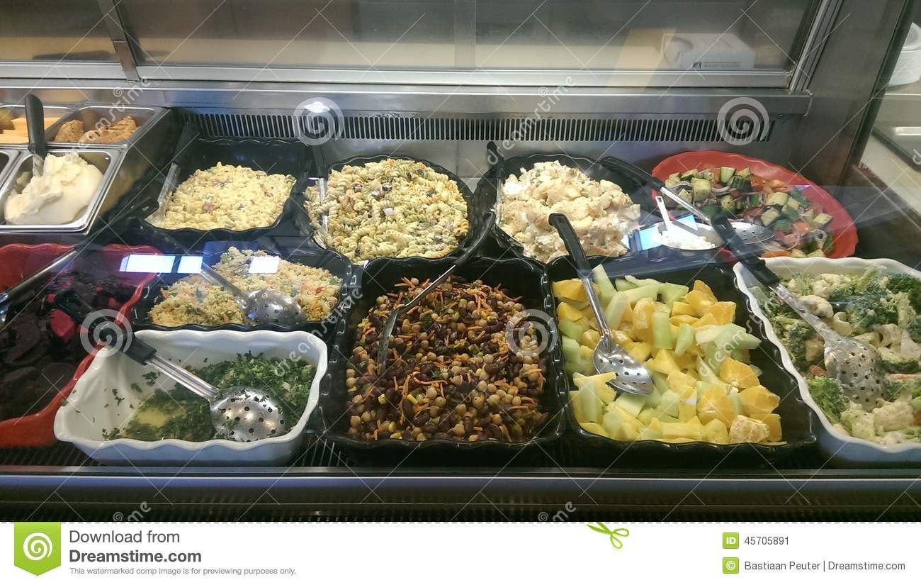 Salad Bar Stock Image Image Of Cheese Appetite Health