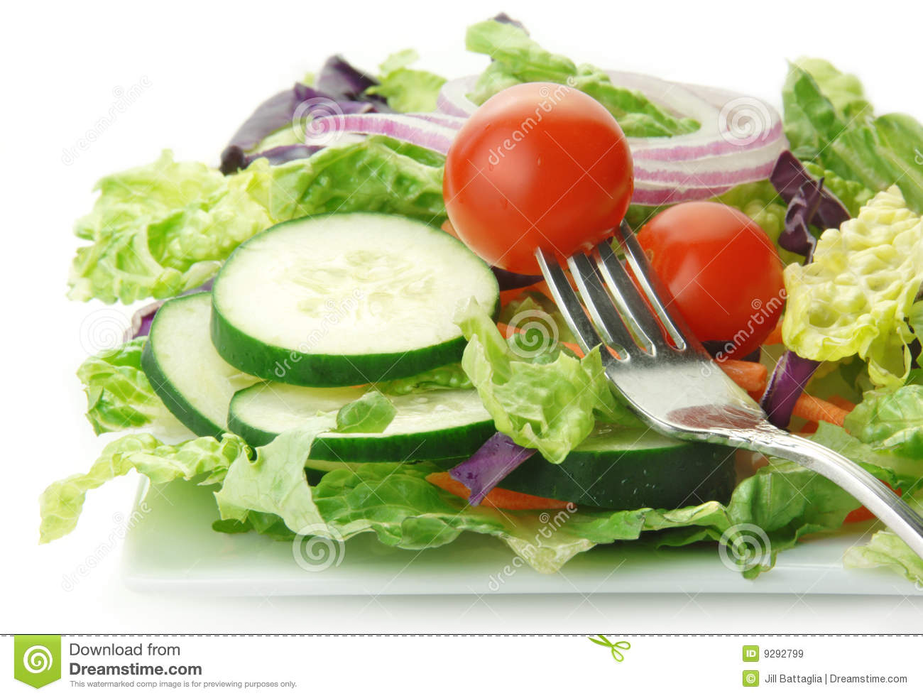 how to use lettuce in salad