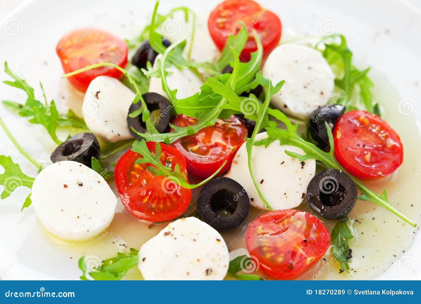 Рецепты итальянских салатов и закусок