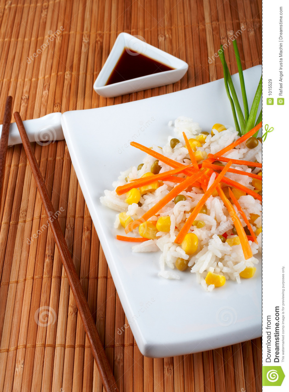 Salad of rice