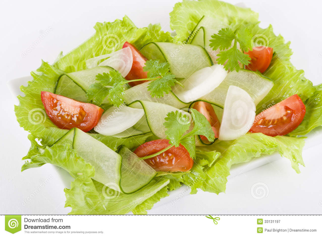 Salad Royalty Free Stock Photography - Image: 33131197
