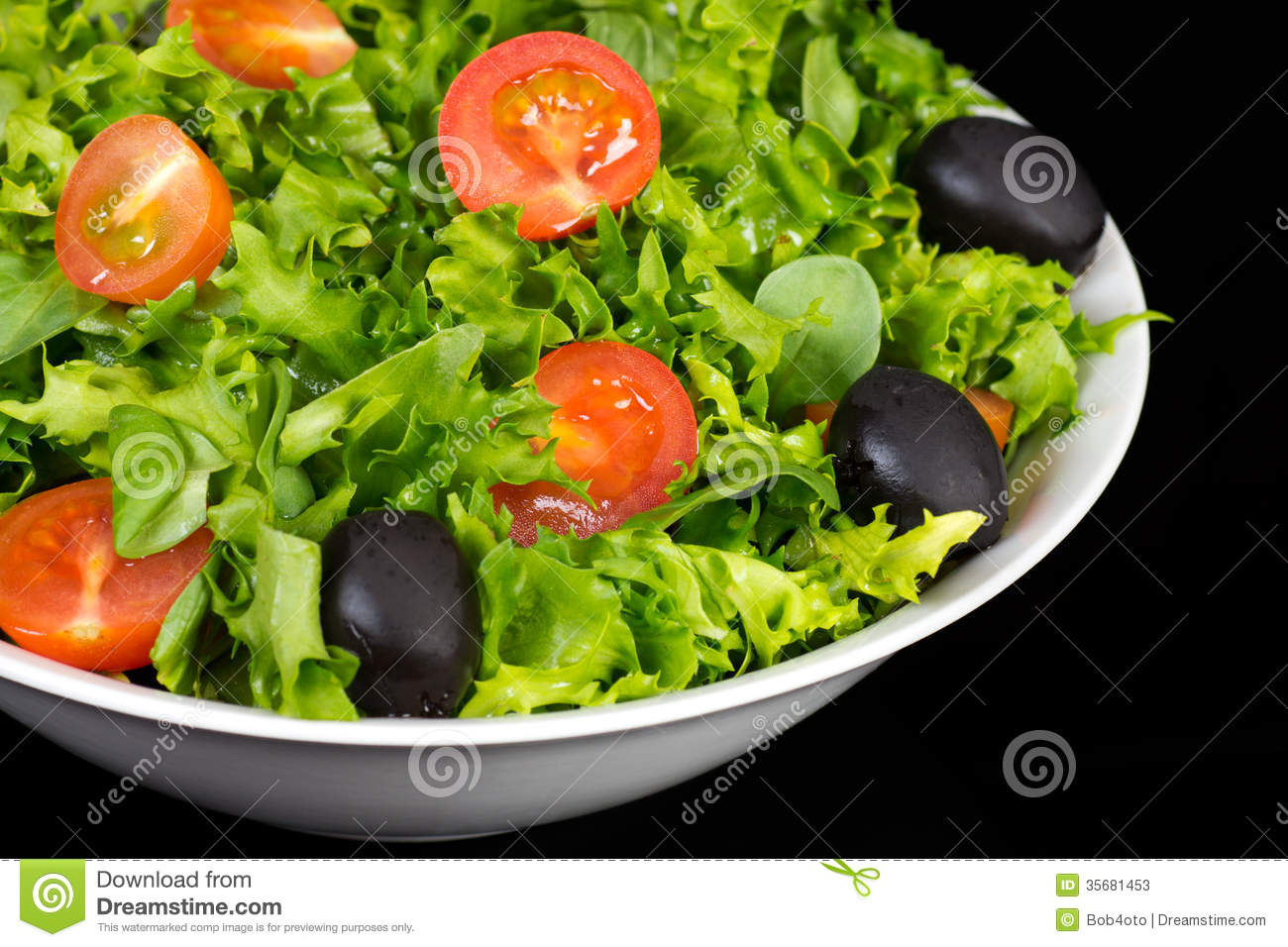 how to make lettuce and tomato salad