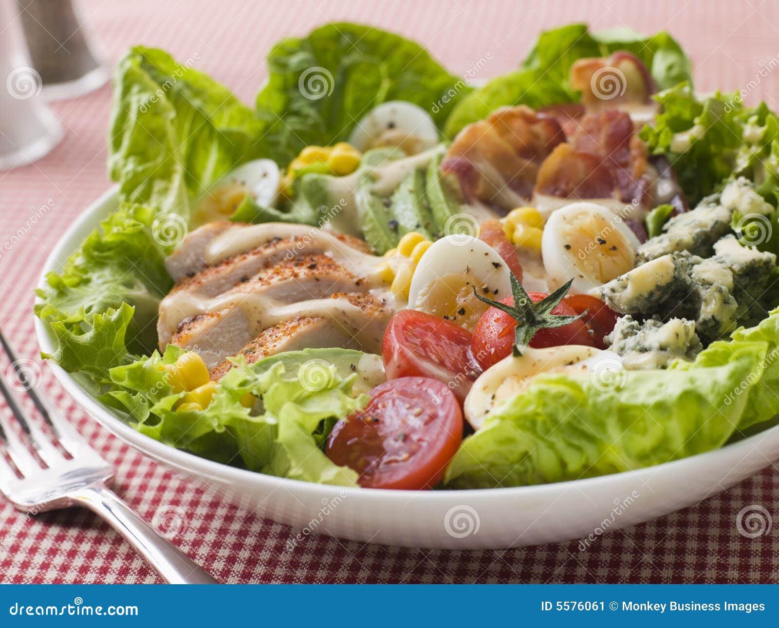 Salada americana de Cobb