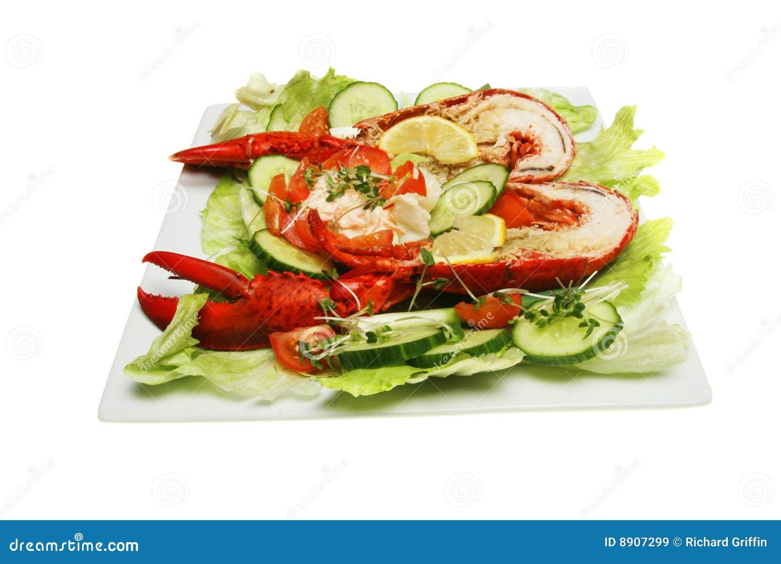 Salada da lagosta