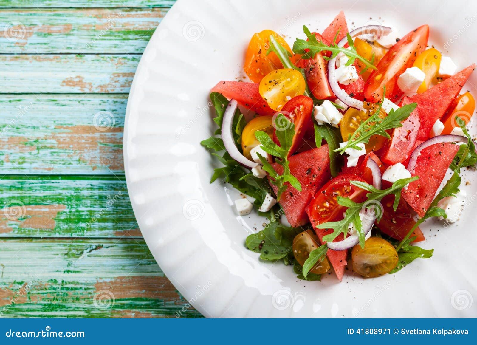 Salada da melancia
