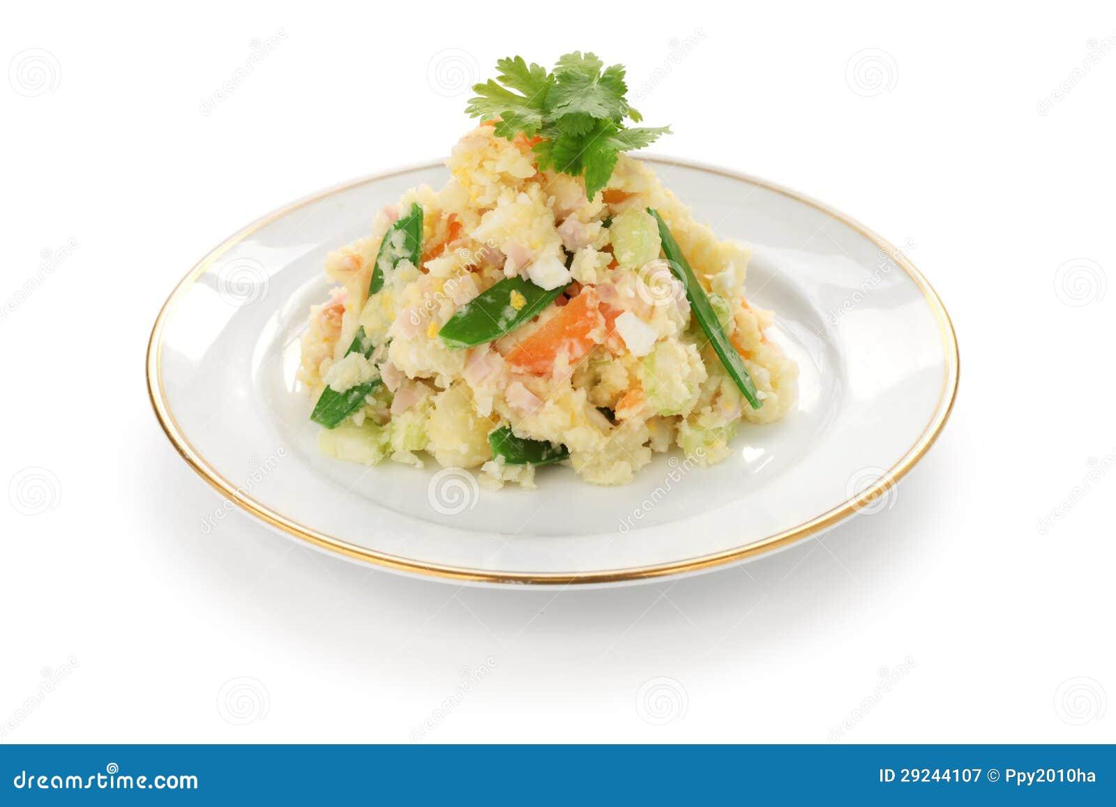 Download Salada de batata imagem de stock. Imagem de refeição - 29244107