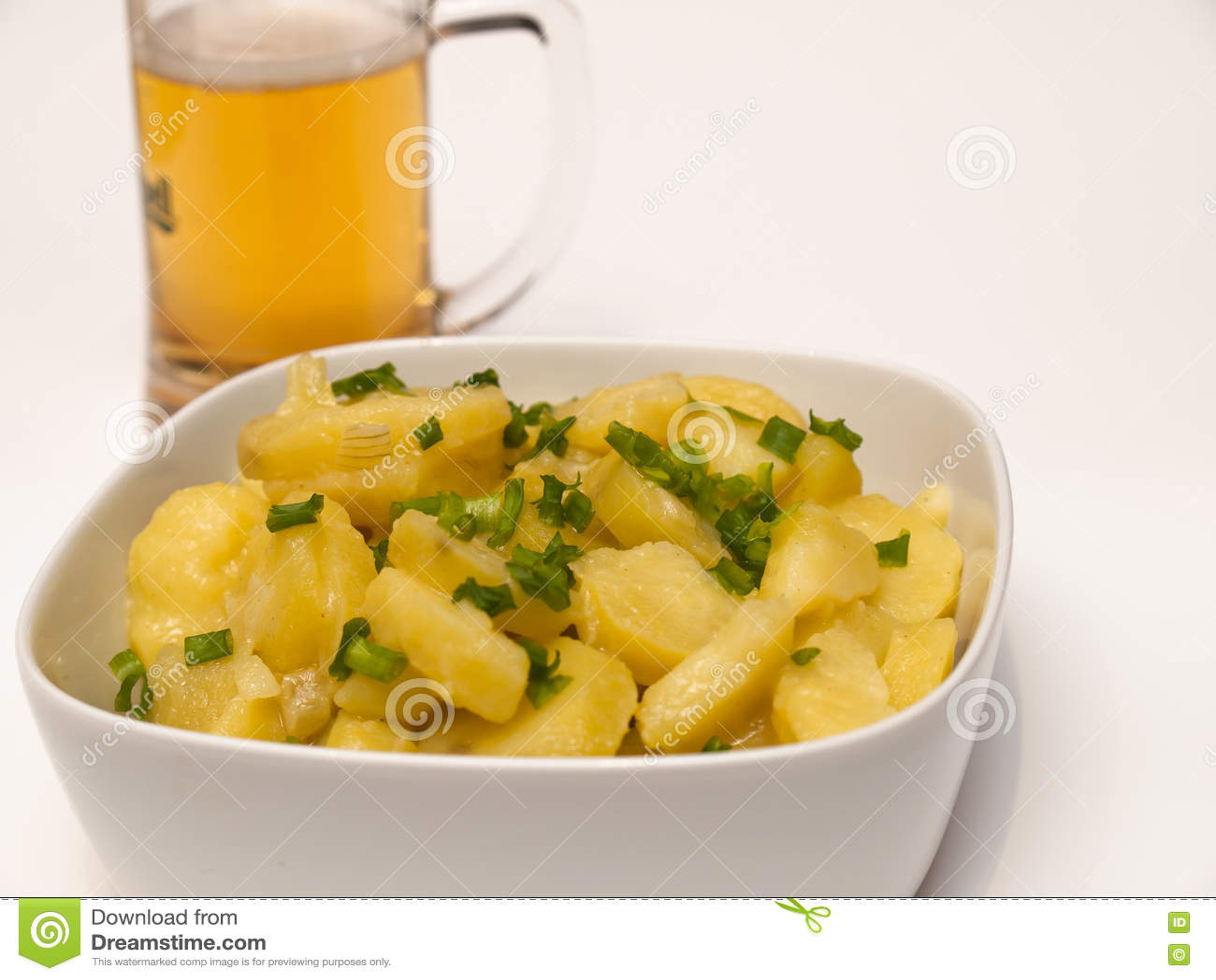 Salada de batata bávara