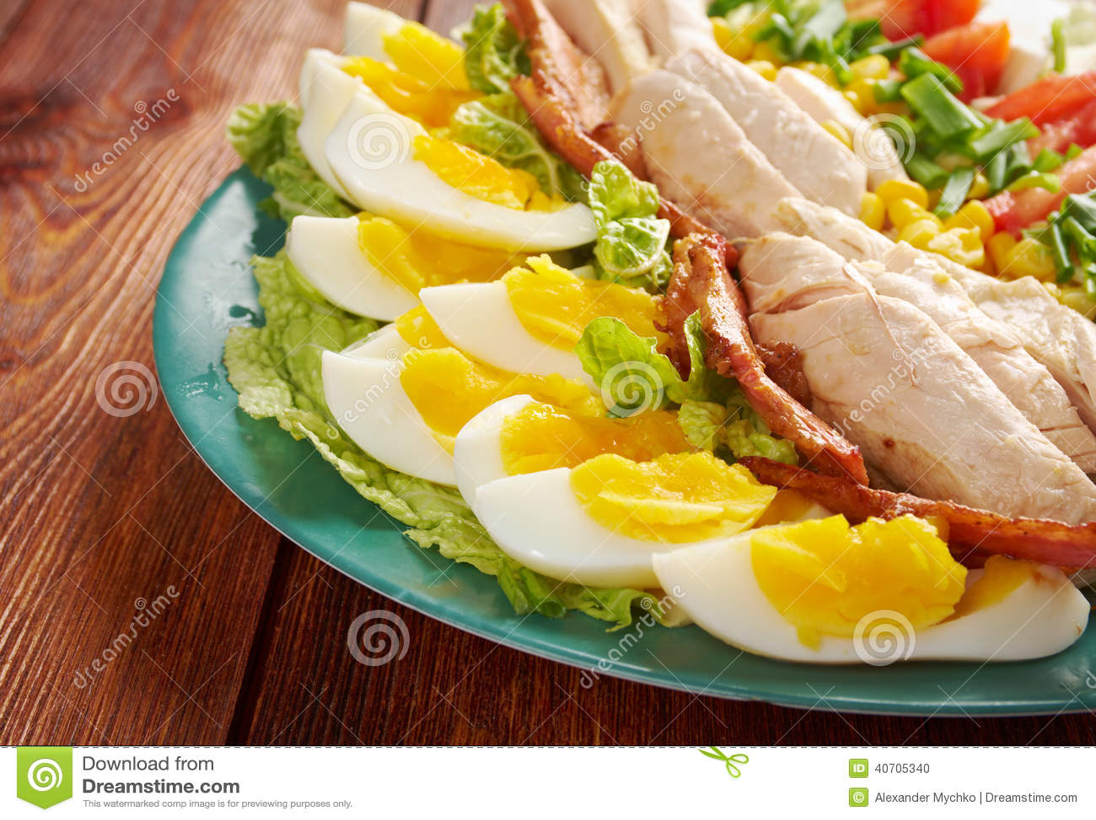Salada de Cobb