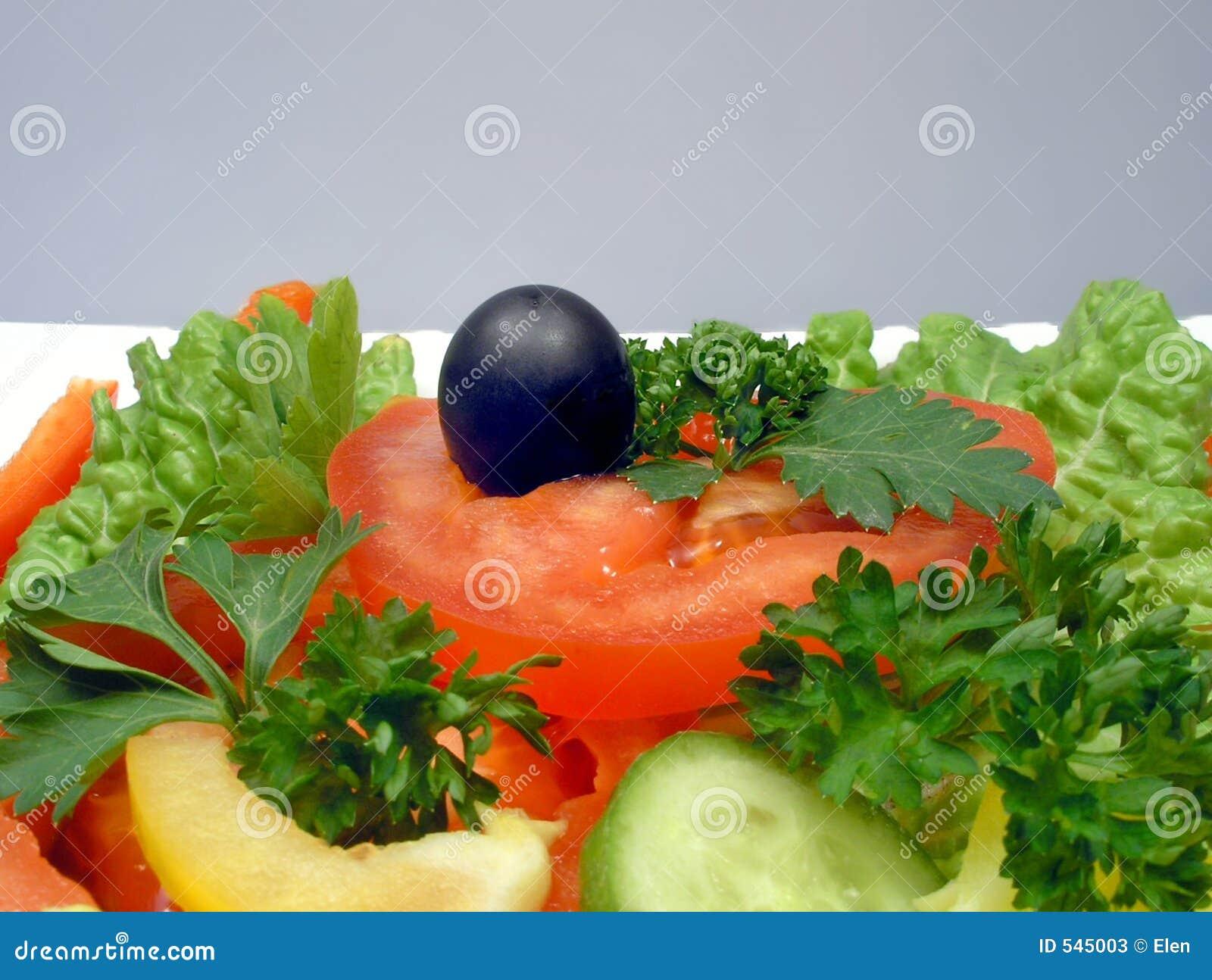 Salada Dietic com azeitona