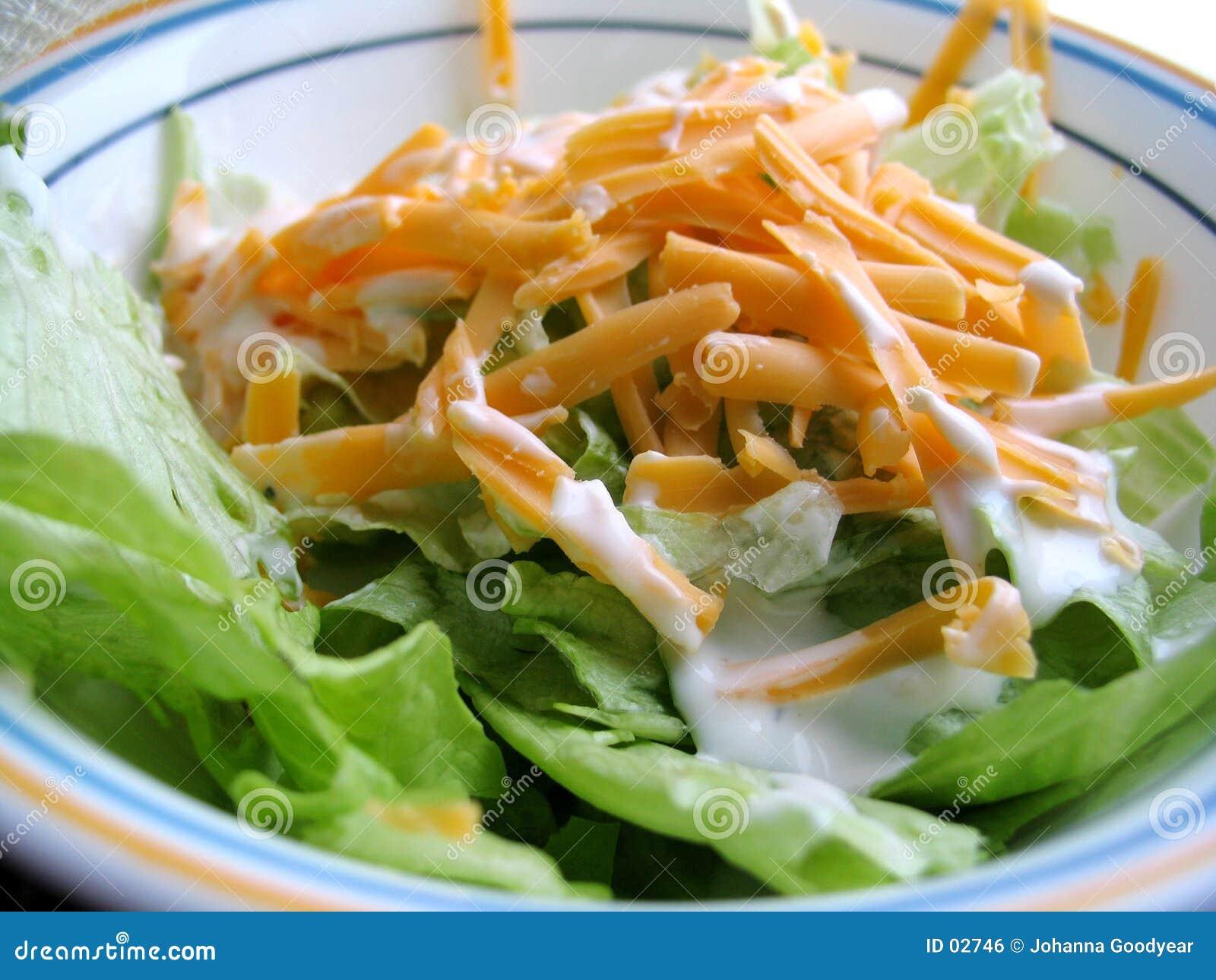 Salada do almoço