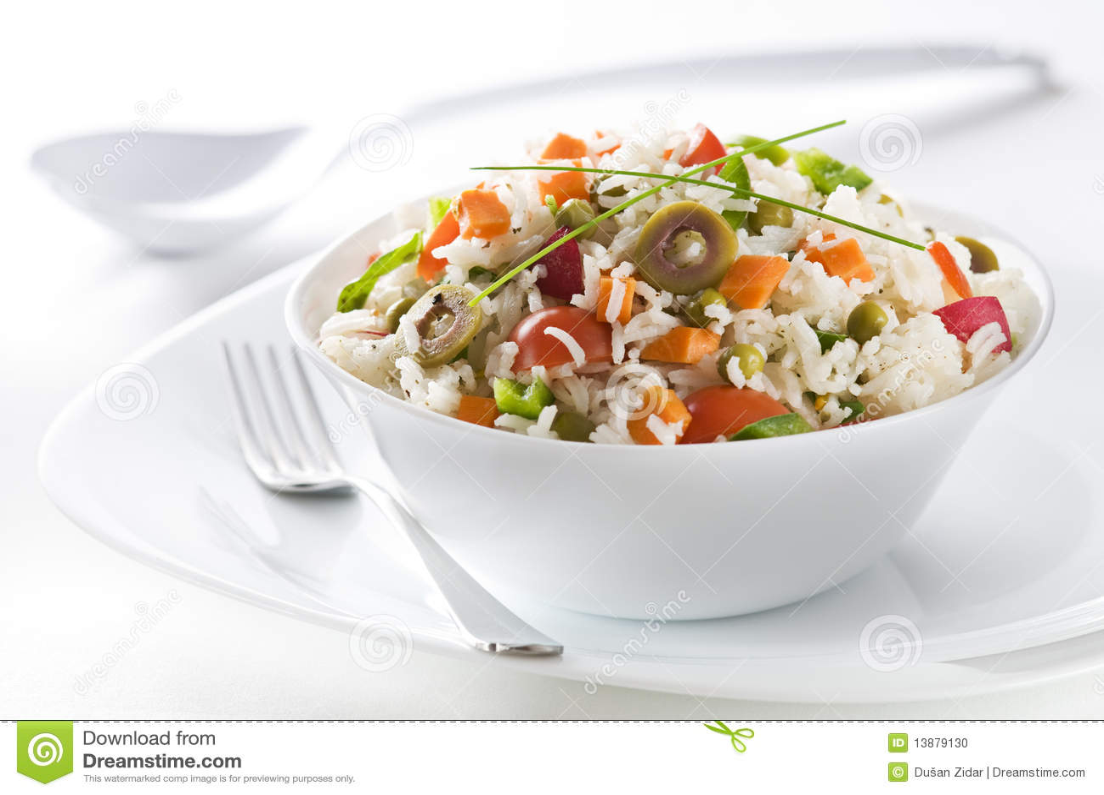 Salada do arroz