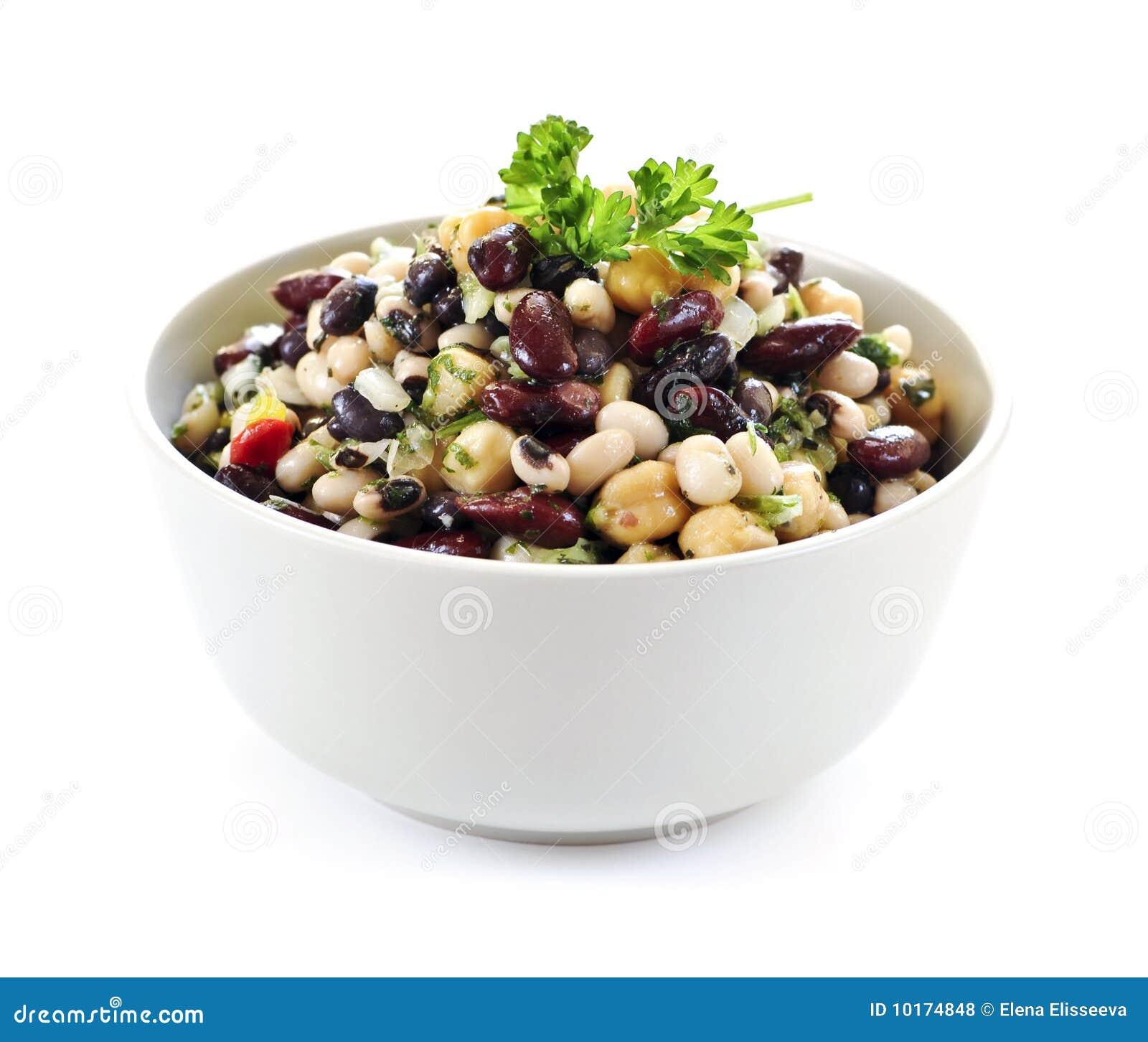 Salada do feijão