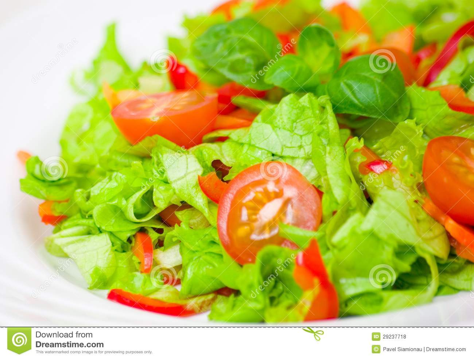Download Salada do legume fresco foto de stock. Imagem de lunch - 29237718