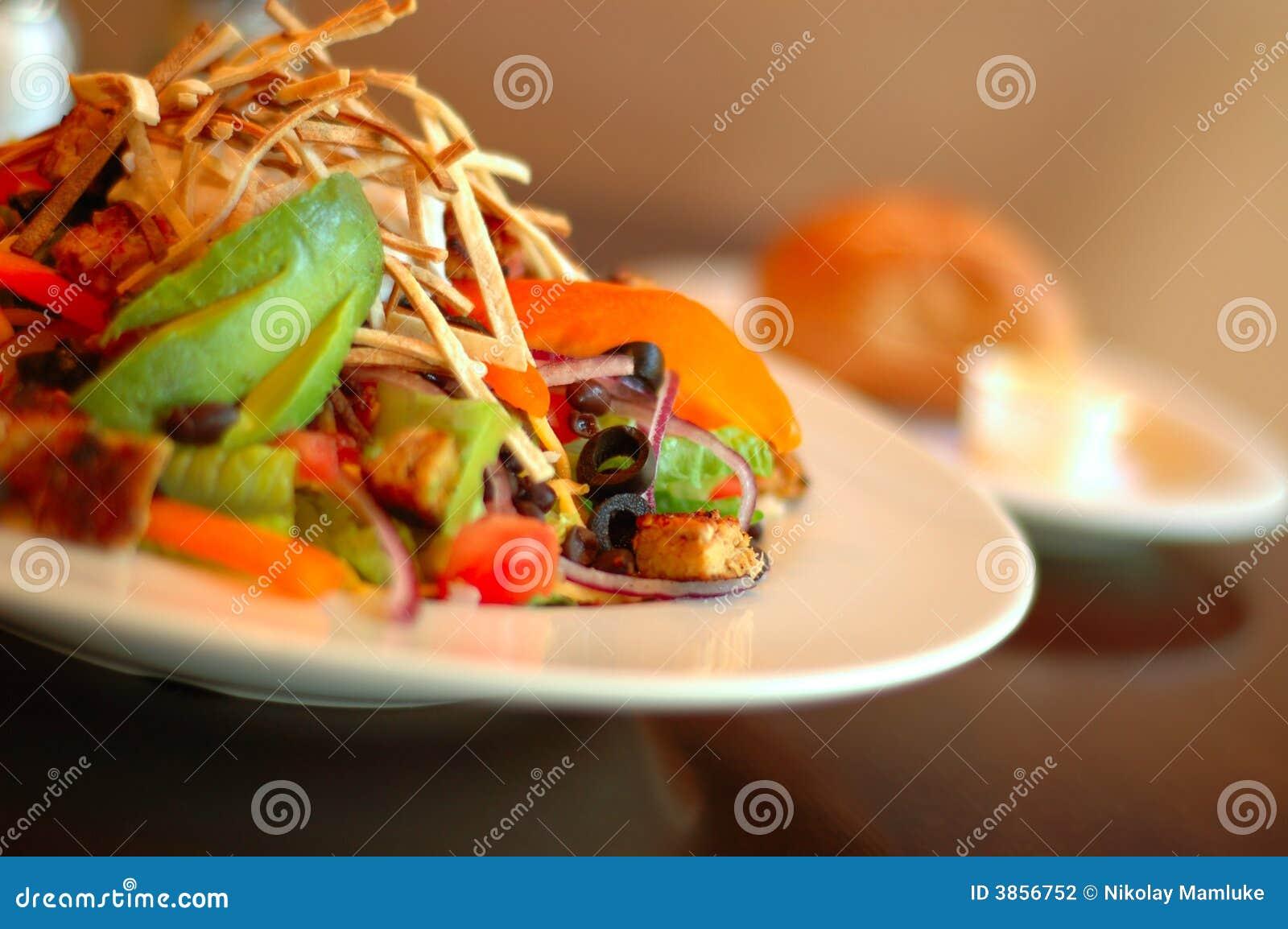 Salada do sudoeste do vegan