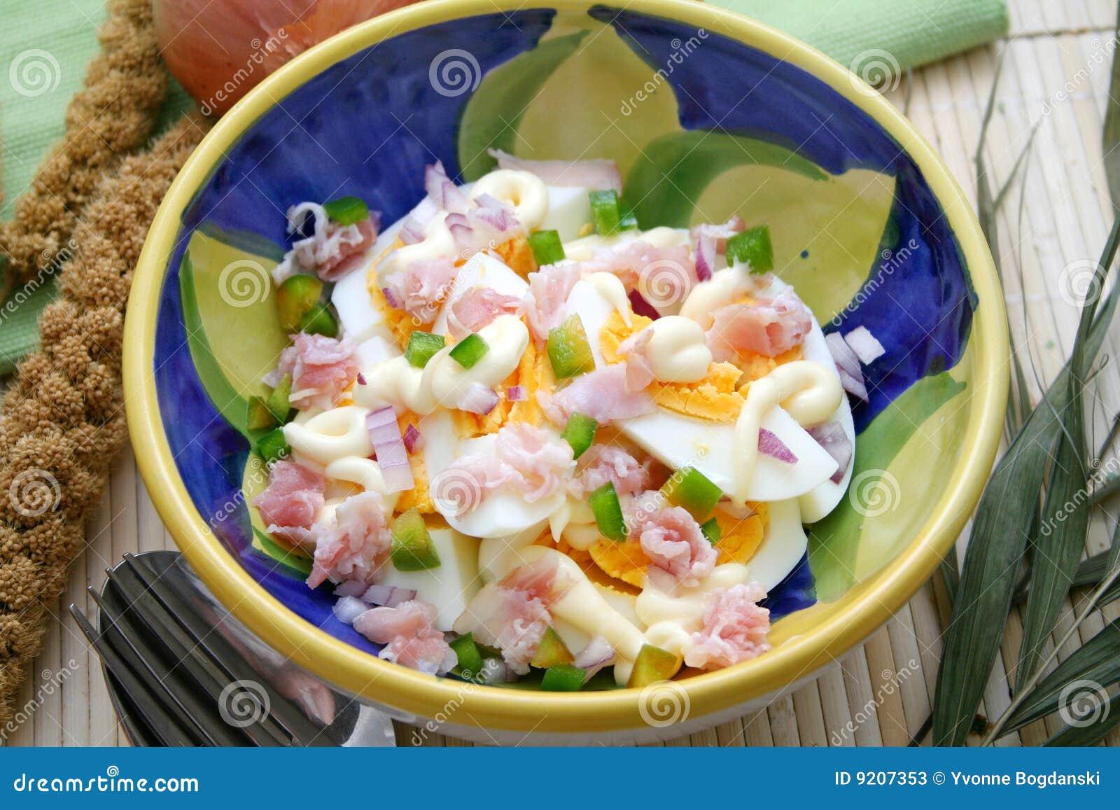 Salada dos ovos