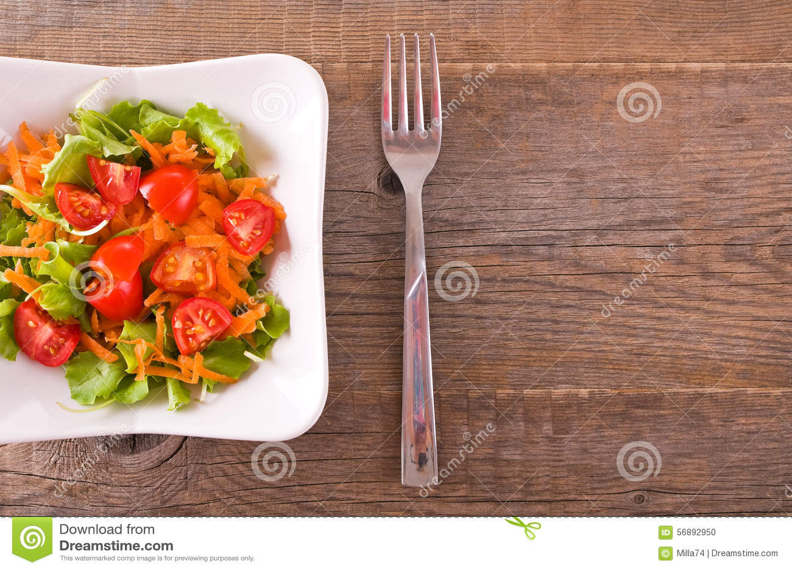 Salada vegetal