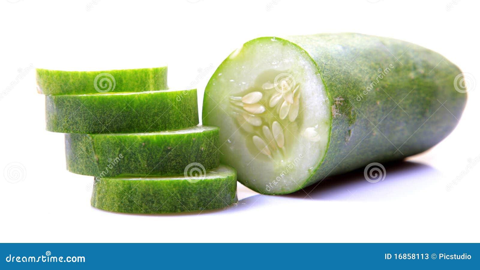 Salada verde do pepino