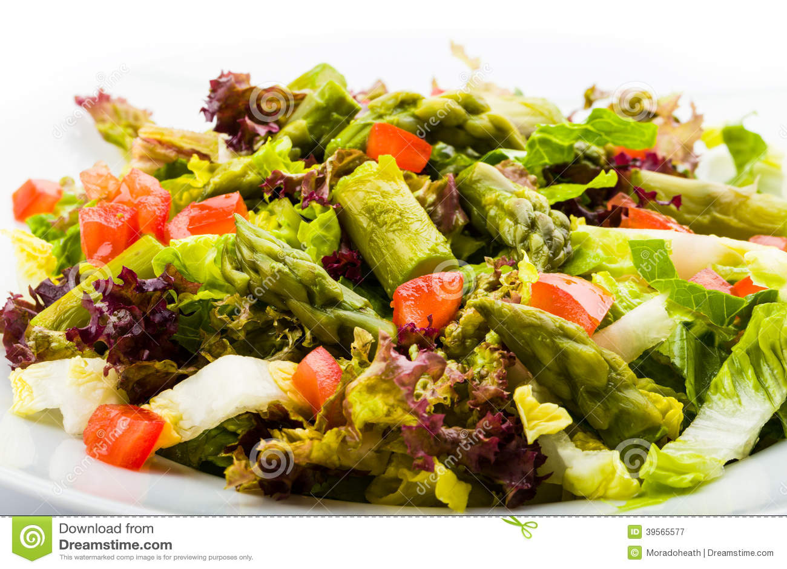 Salade d asperge