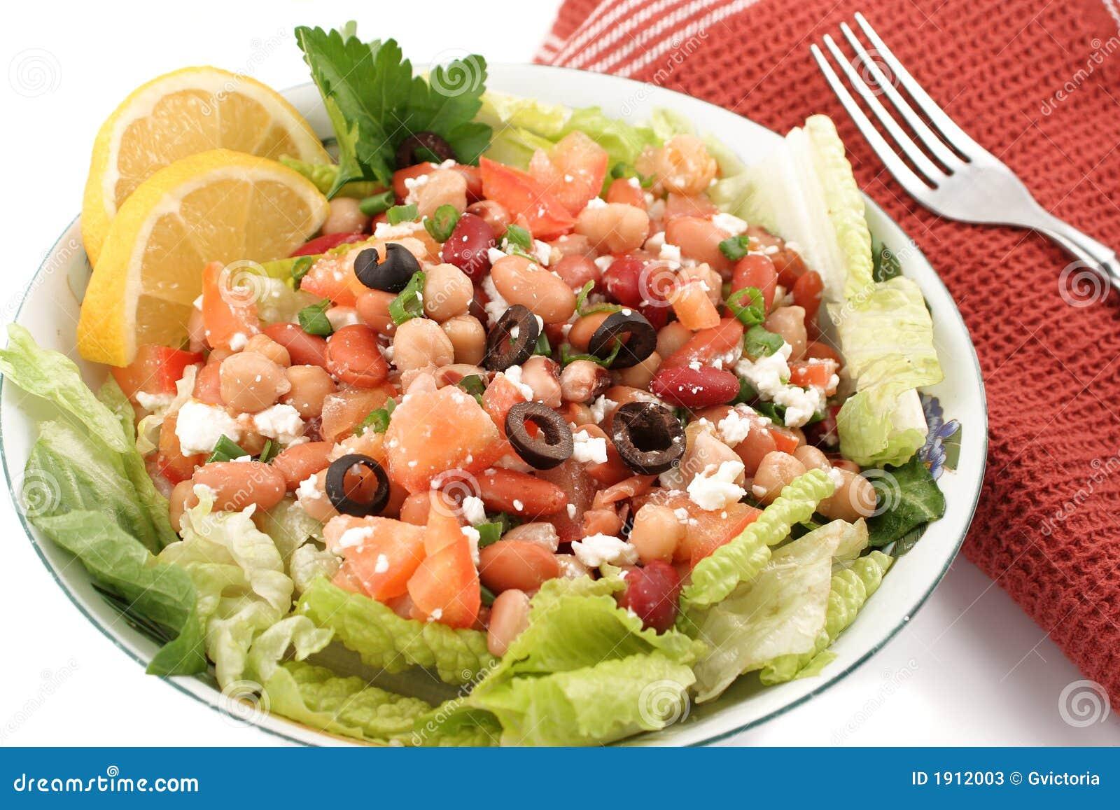 Salade d haricot