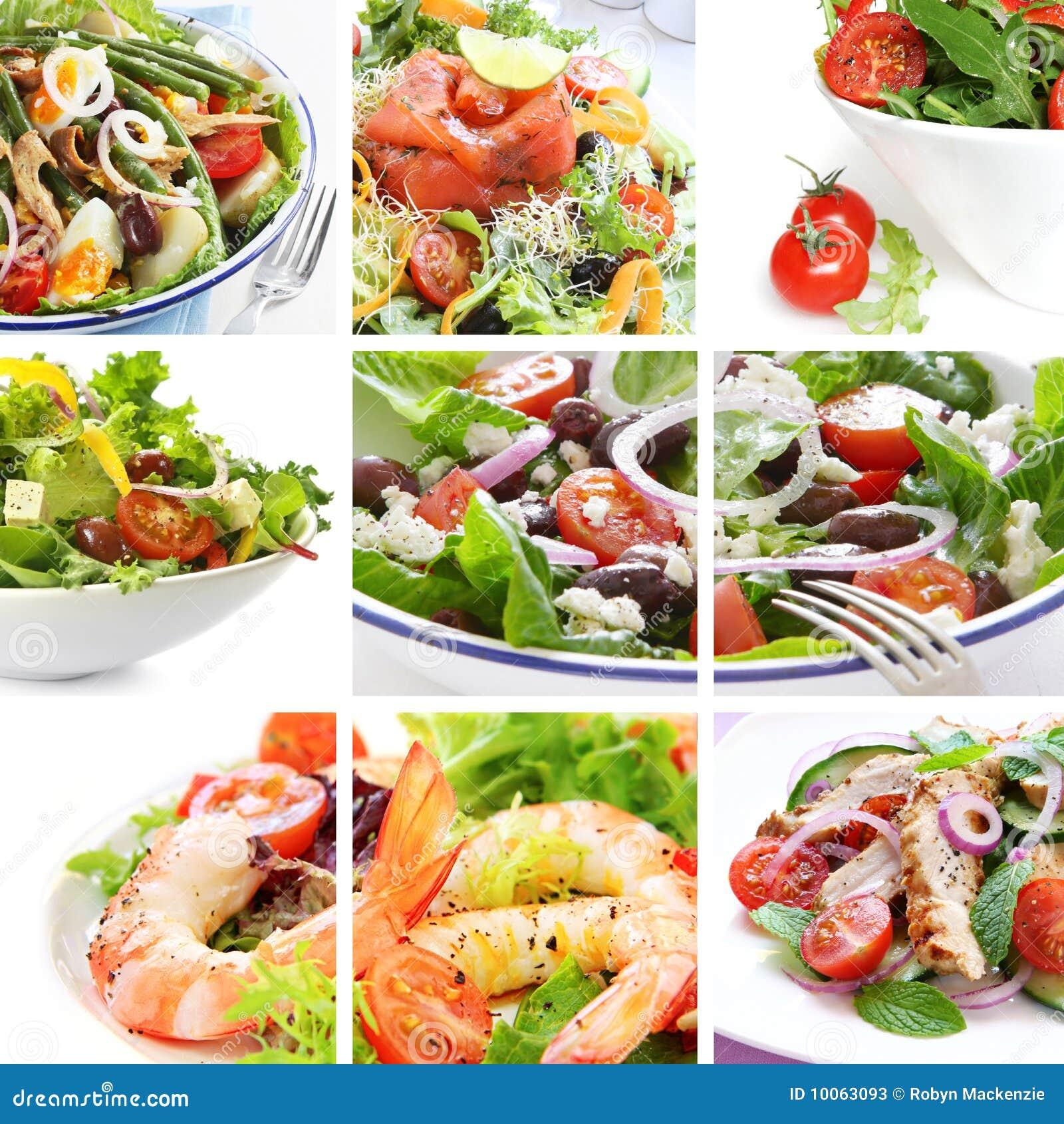 Salade de collage