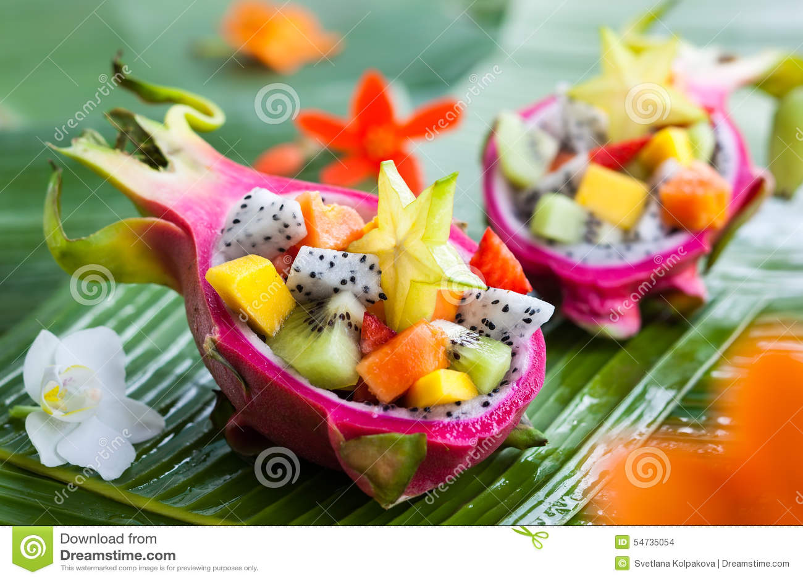Salade de fruits exotique