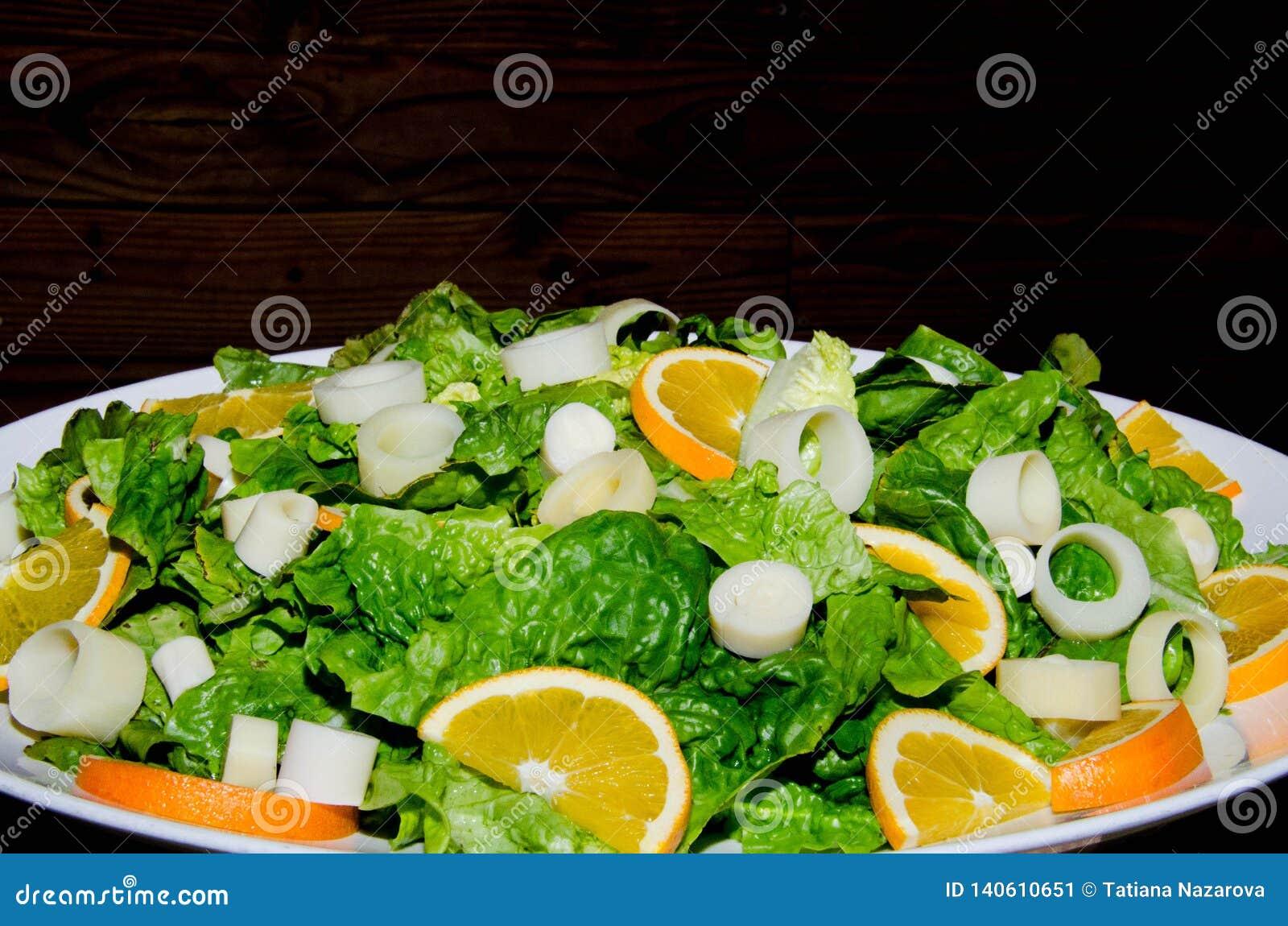 Salade de légume de ressort