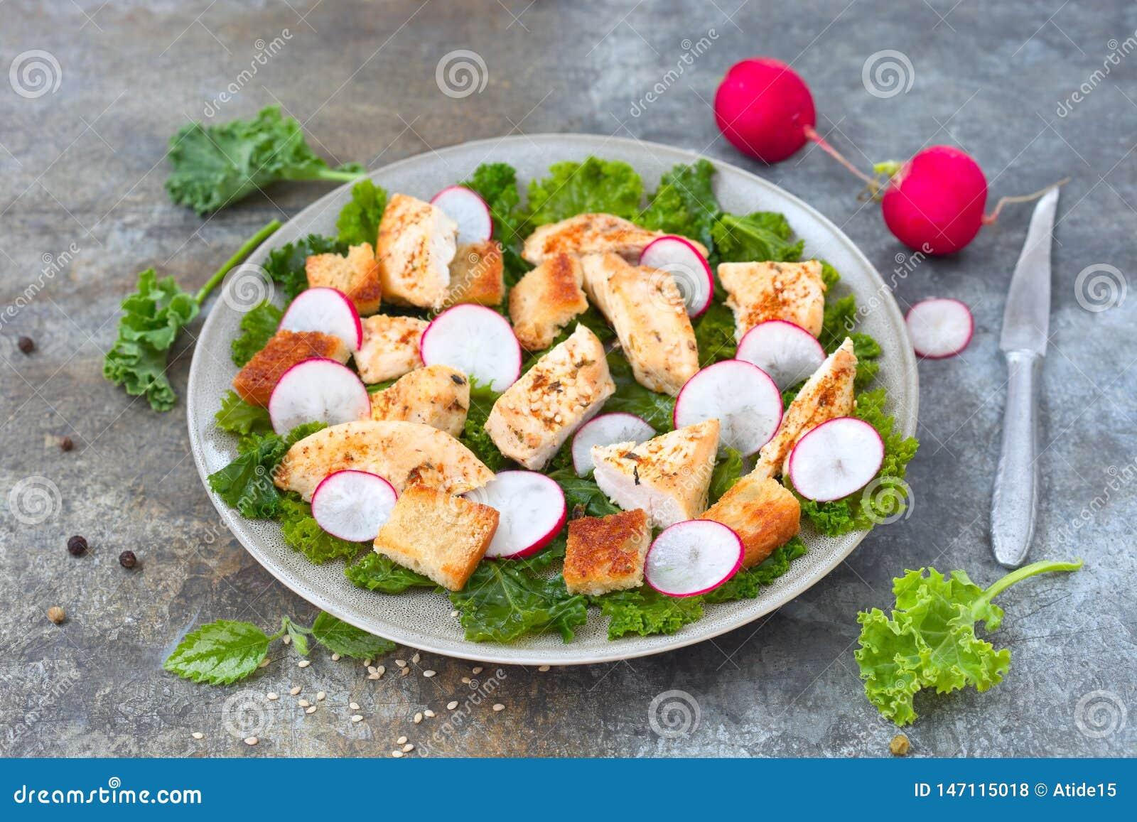 Salade de miette de pain