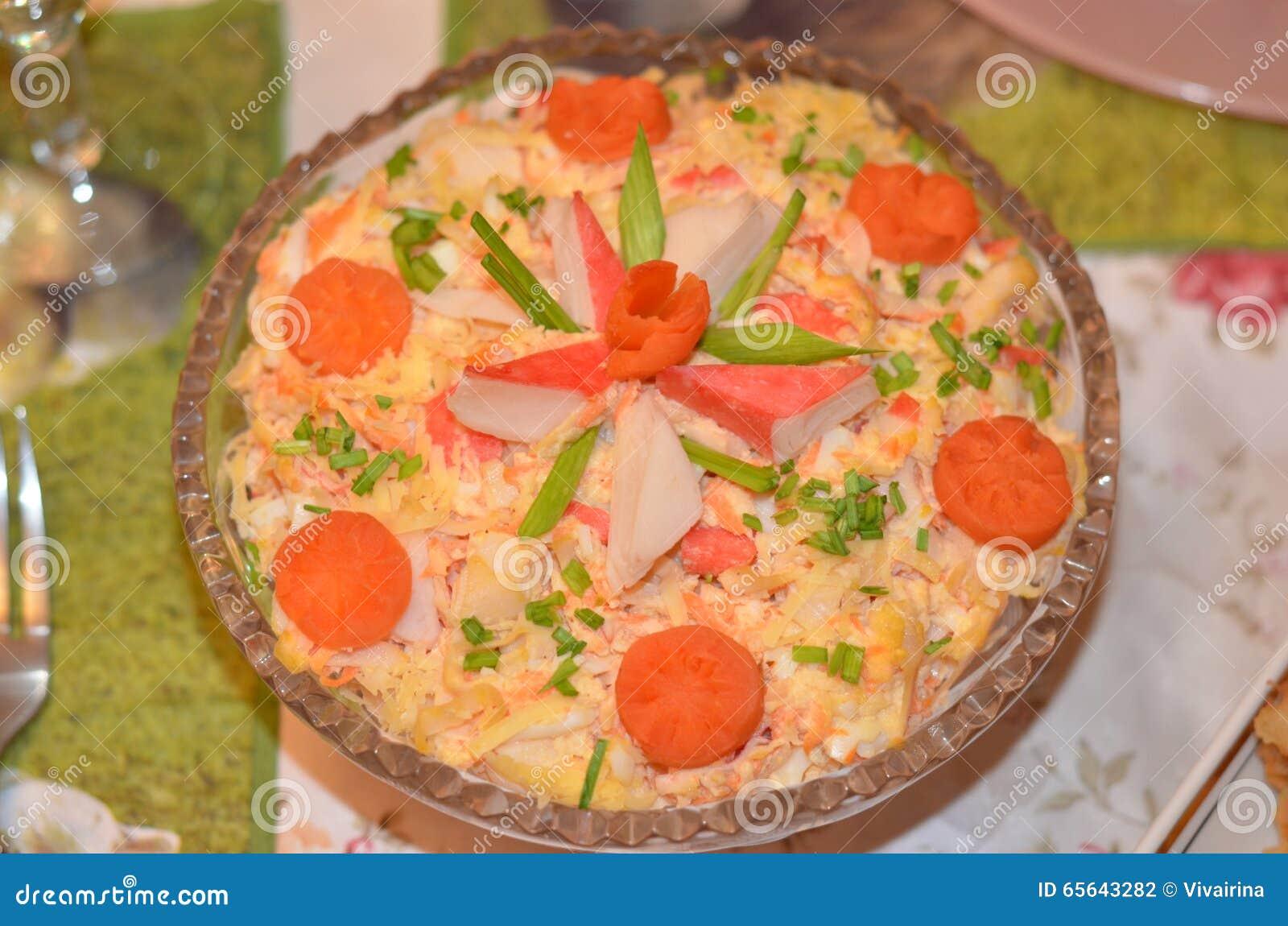Salade fraîche, vue supérieure Nourriture saine