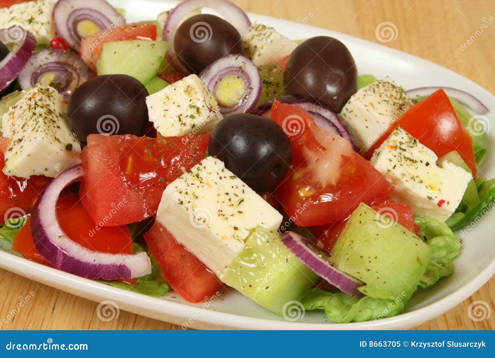 Salade grecque.