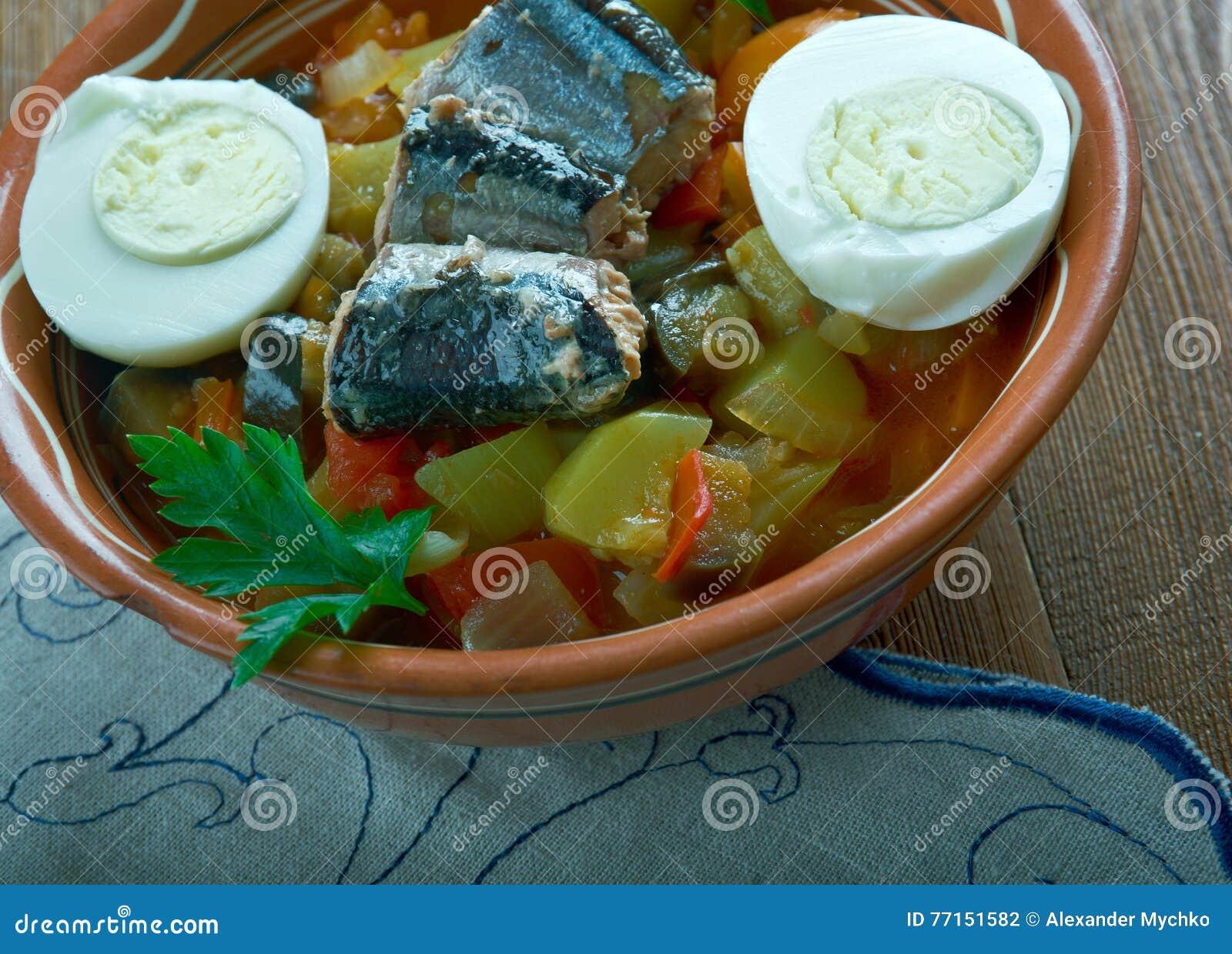 Salade grillée par Tunisien
