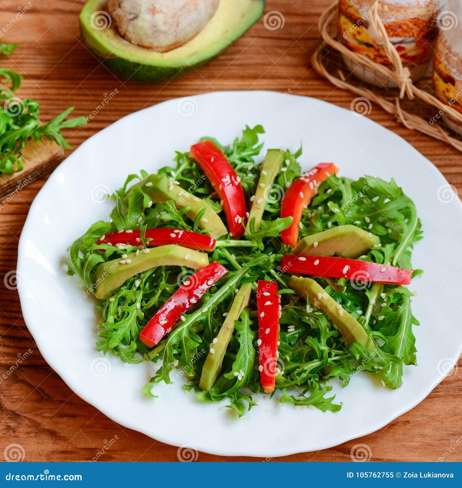 Salade Saine Faite Maison Pour Le Dejeuner Ou Le Diner Salade