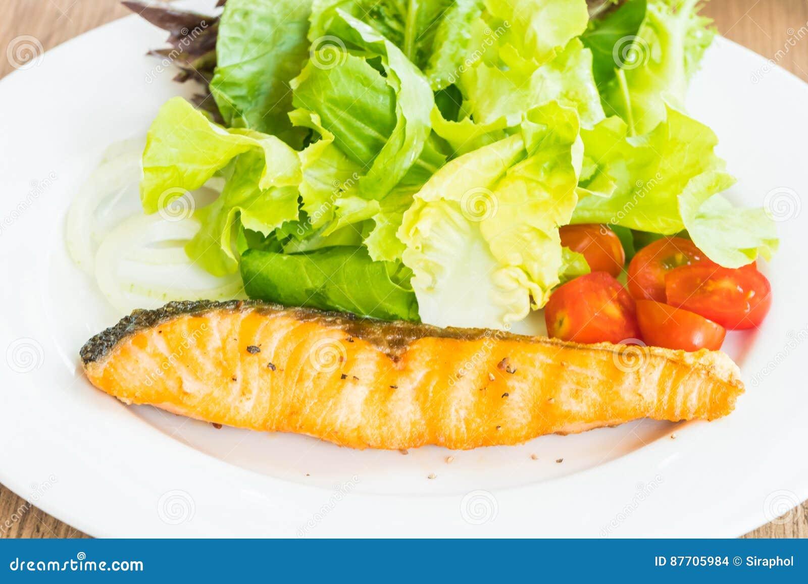 Salade saumonée desséchée