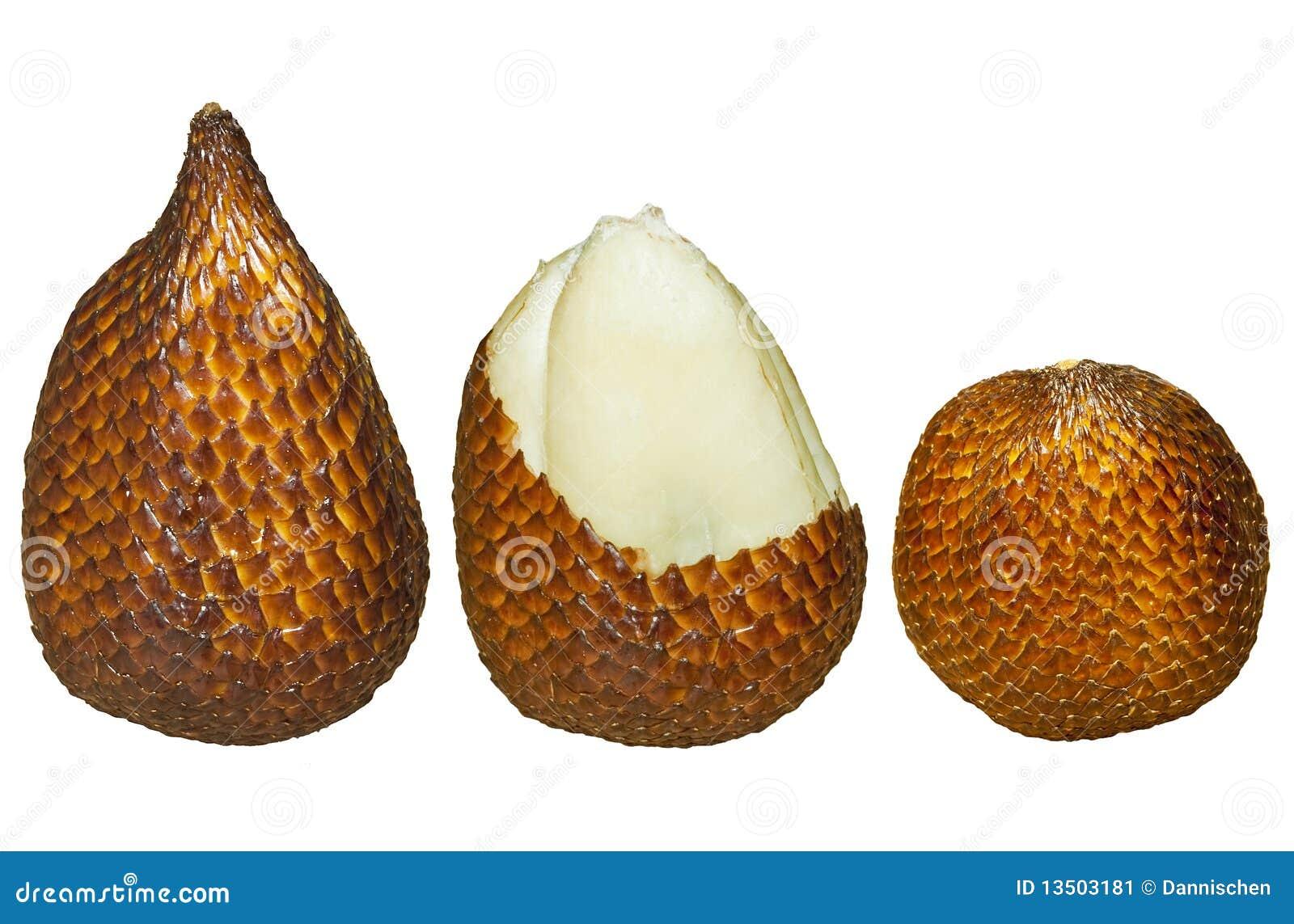 Salak Isolated Fruit Stock Image Image Of Calamoideae