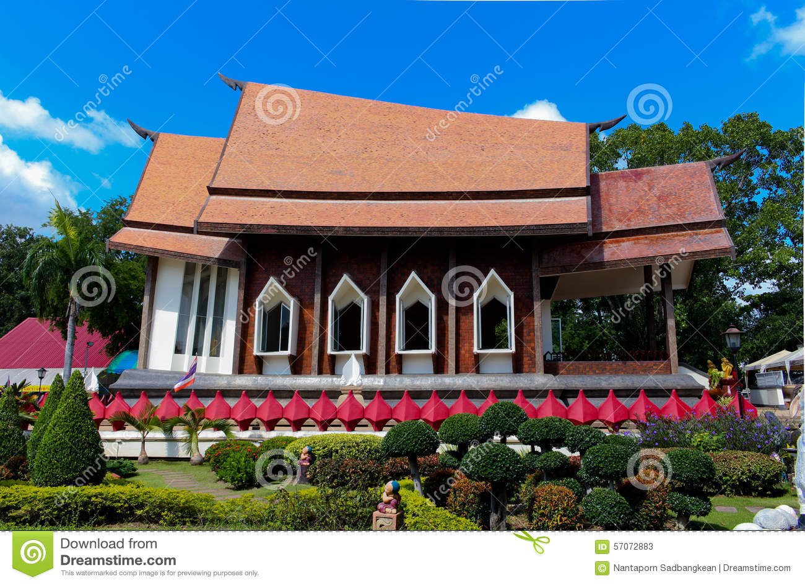 Salaloi van tempel Thaise wat