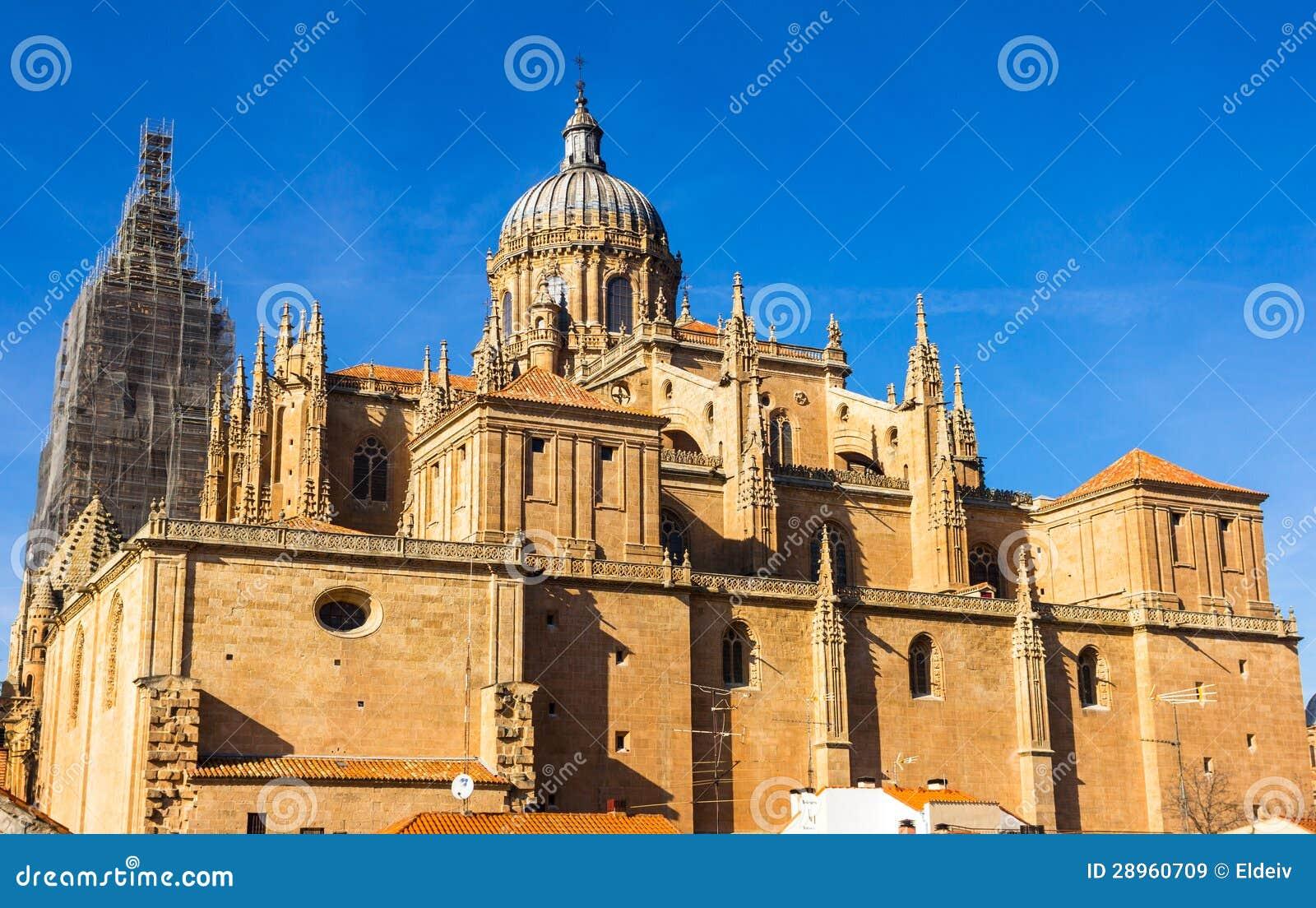 Salamanca Katedralny Tylni widok
