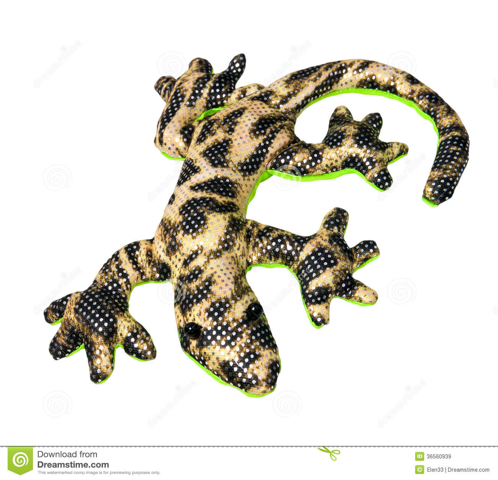 Hansa Tiger Salamander Plush Stuffed Toy Animal #5226