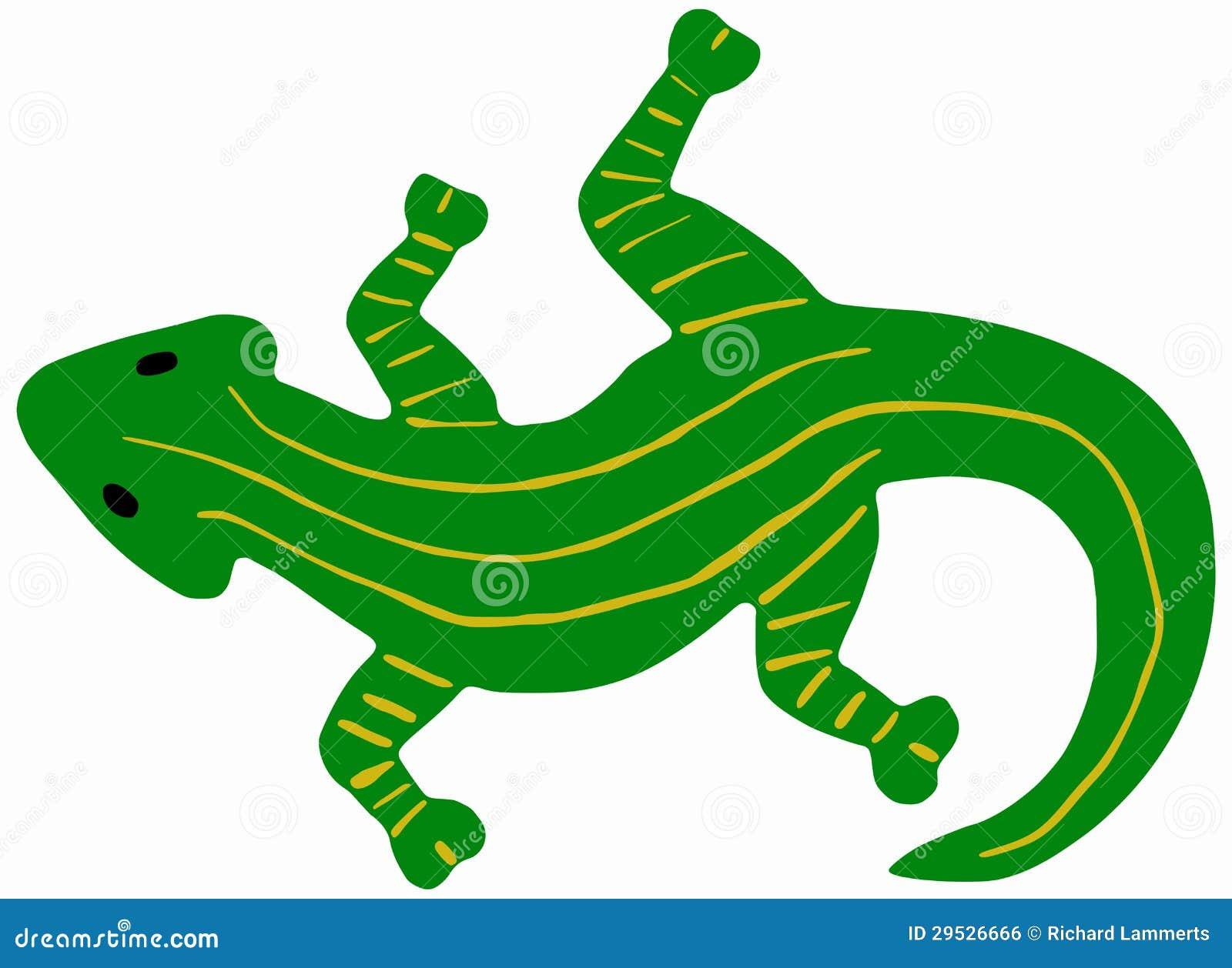 Salamandra verde