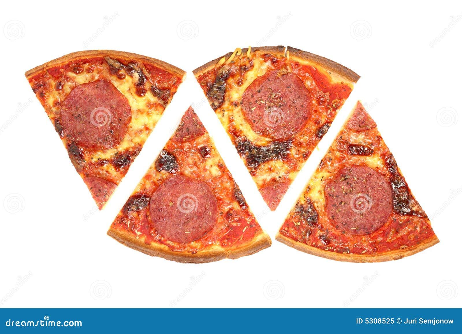 Download Salame della pizza. immagine stock. Immagine di calore - 5308525