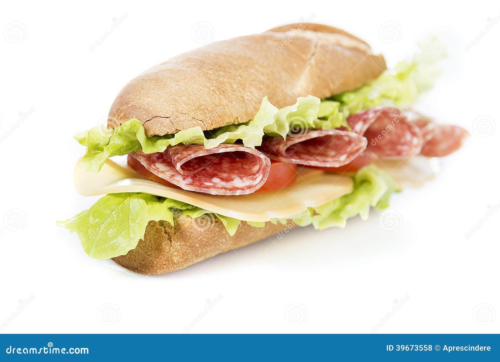 Salami kanapka