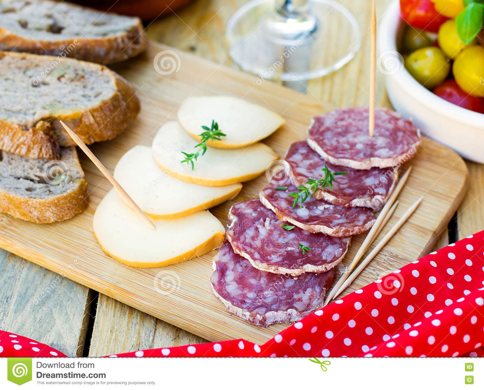 tapas queso ahumado