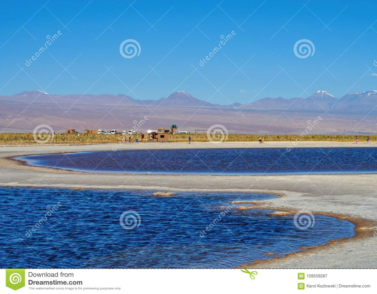 Salar de Atacama nel Cile