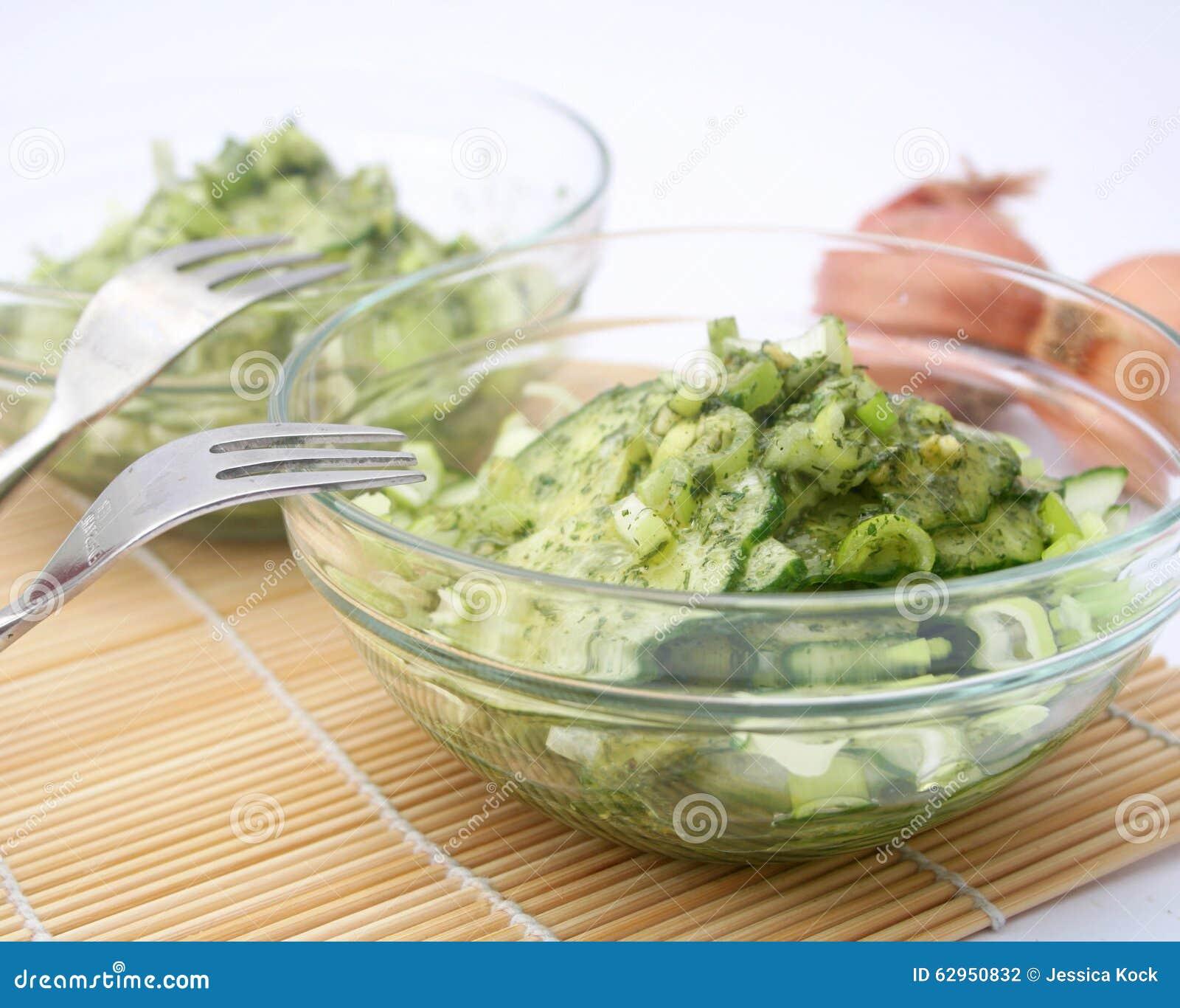 Salat der Gurke
