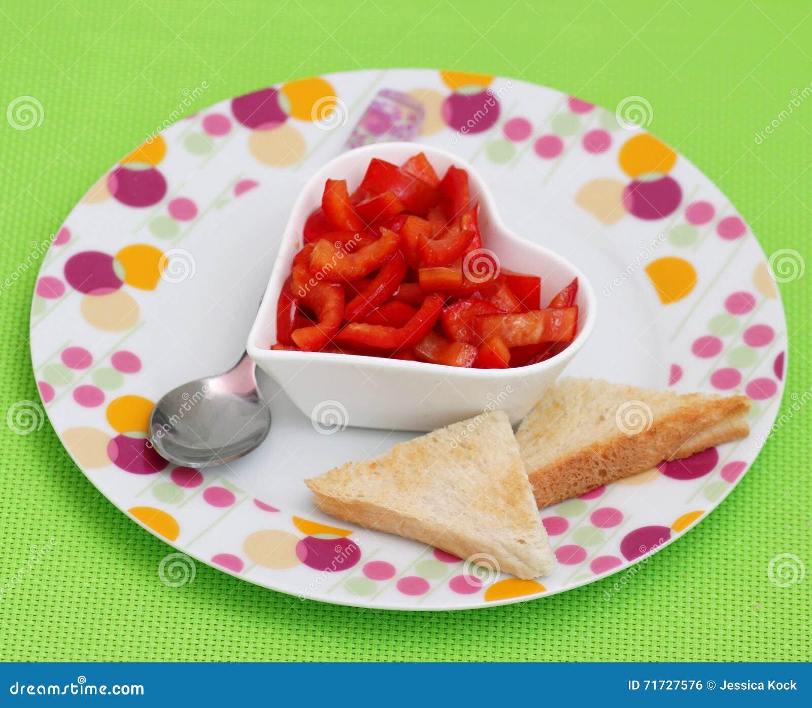 Salat des Paprikas