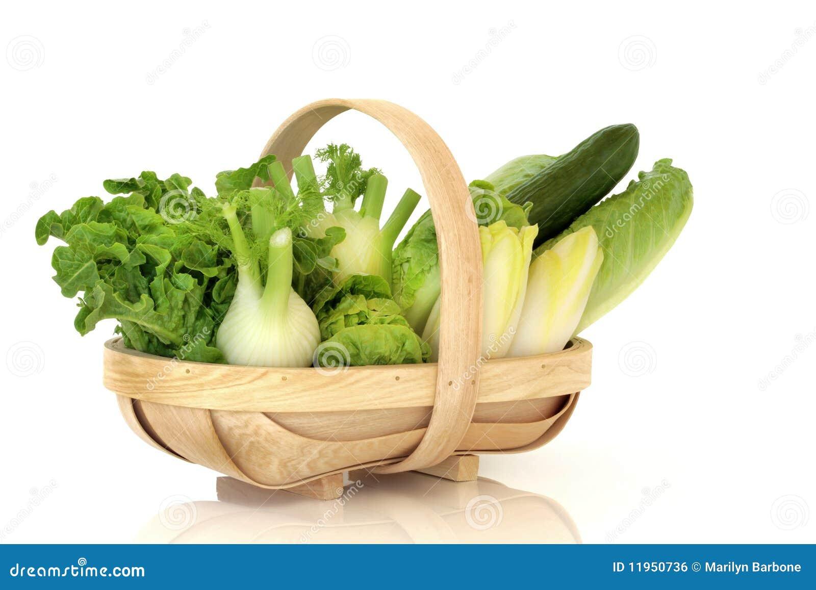 Salat-Gemüse