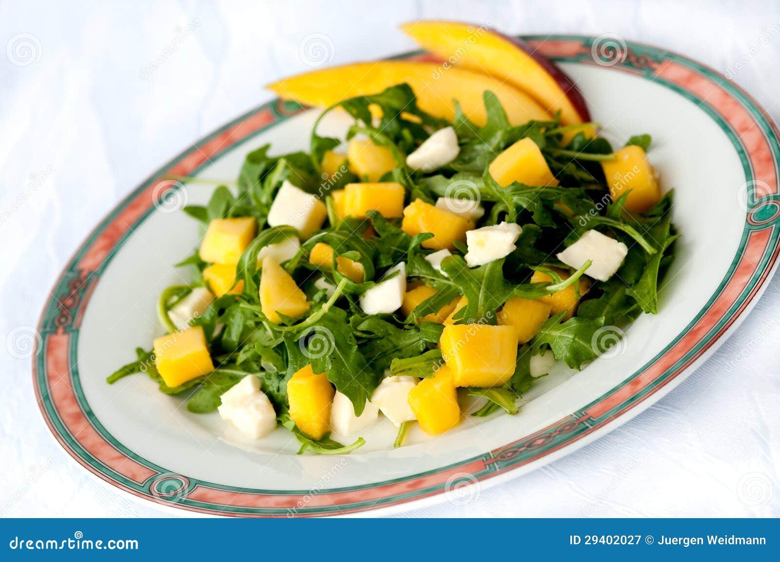 Sommersalat mango