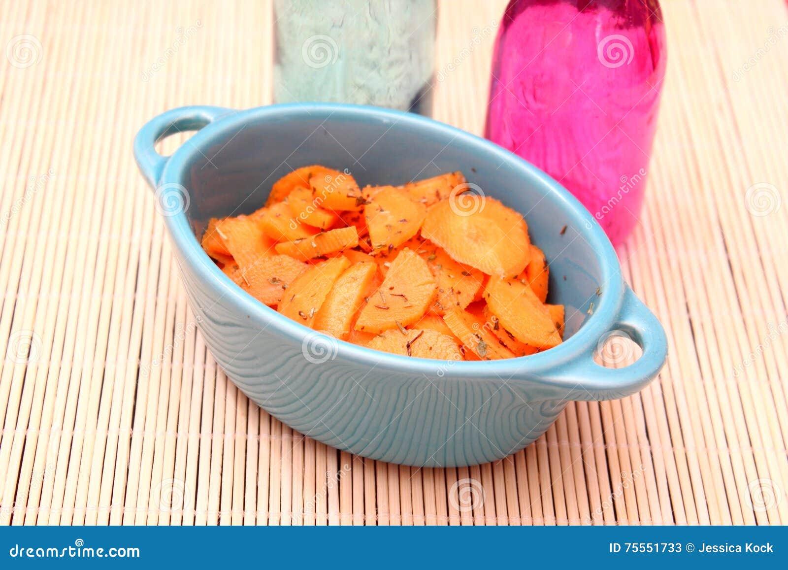 Salat von Karotten