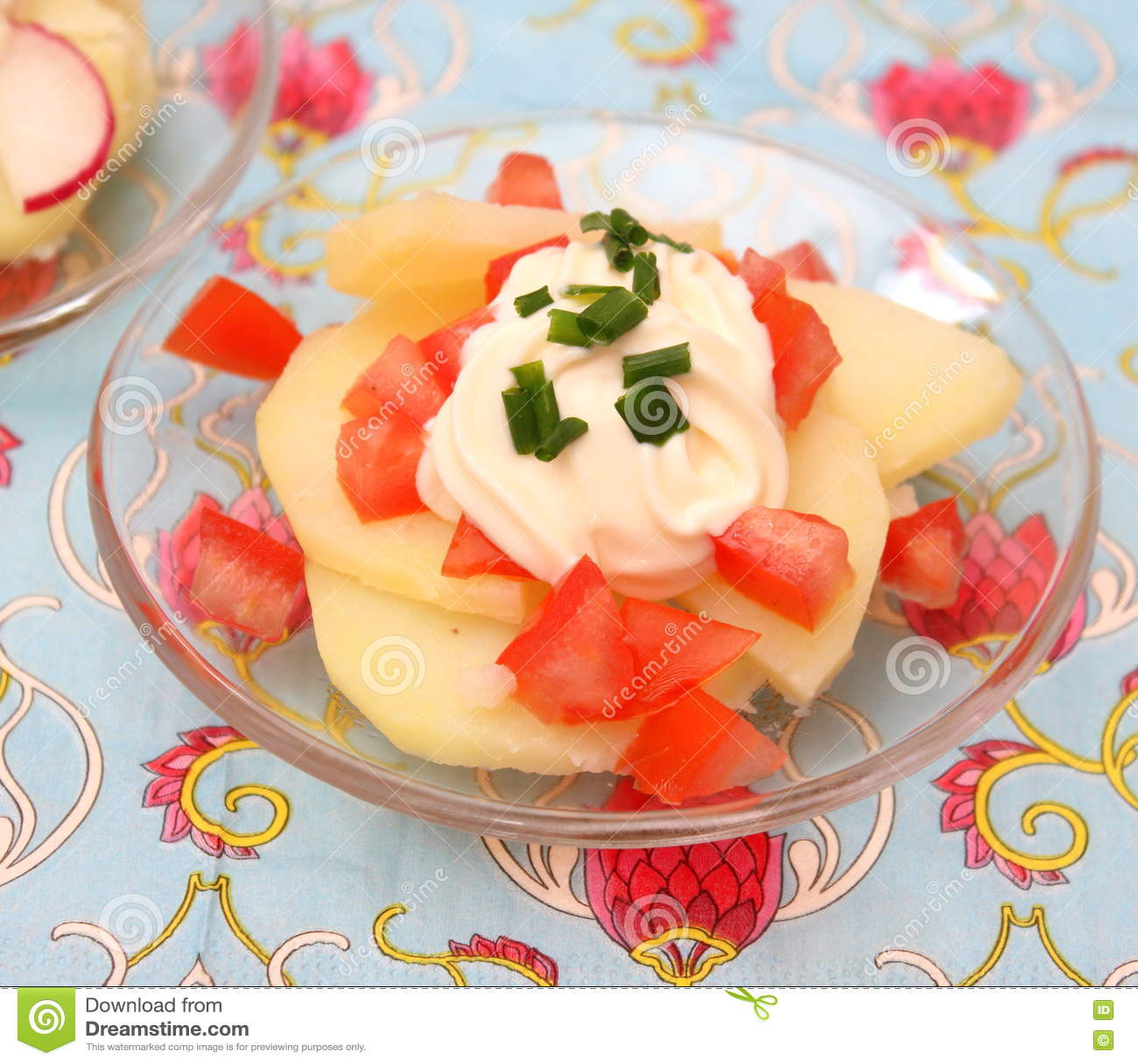 Salat von Kartoffeln