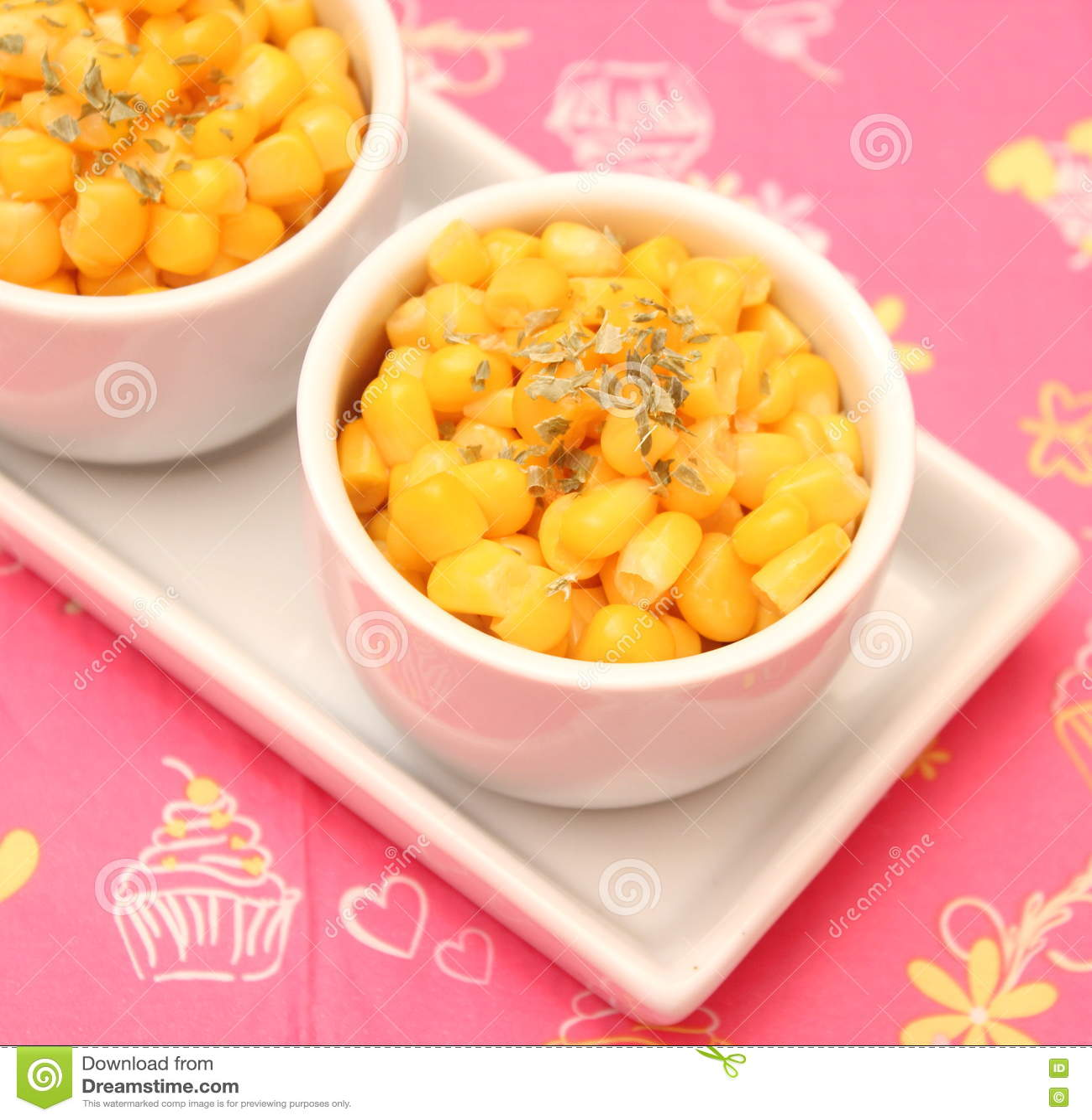 Salat von Mais