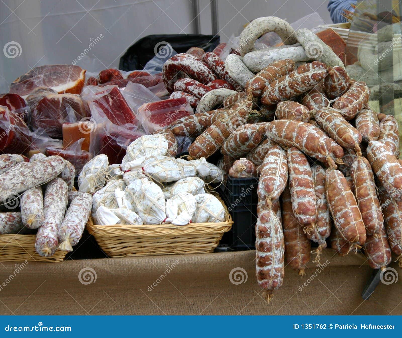 Salchichas italianas