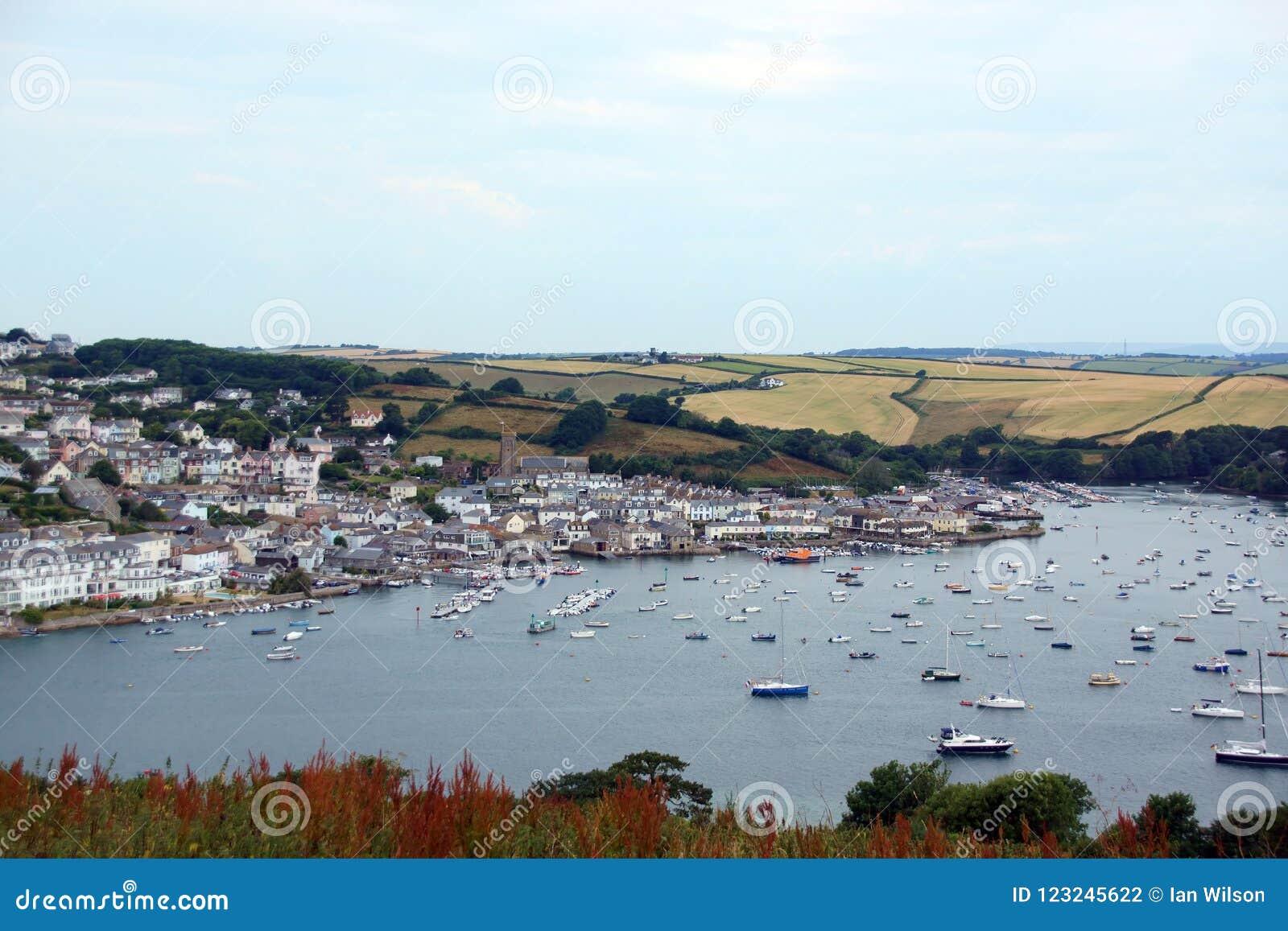 Salcombe Harbour, Devon, UK